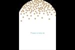 Lumières dorées Étiquettes arrondies - gabarit prédéfini. <br/>Utilisez notre logiciel Avery Design & Print Online pour personnaliser facilement la conception.