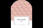 Jolis pois Étiquettes rectangulaires - gabarit prédéfini. <br/>Utilisez notre logiciel Avery Design & Print Online pour personnaliser facilement la conception.