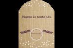 Toile à frange Étiquettes rectangulaires - gabarit prédéfini. <br/>Utilisez notre logiciel Avery Design & Print Online pour personnaliser facilement la conception.
