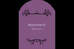 Filigrane violet Étiquettes rectangulaires - gabarit prédéfini. <br/>Utilisez notre logiciel Avery Design & Print Online pour personnaliser facilement la conception.