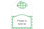 Lapin d'Écosse Étiquettes arrondies - gabarit prédéfini. <br/>Utilisez notre logiciel Avery Design & Print Online pour personnaliser facilement la conception.