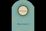Explosion fauve Étiquettes rectangulaires - gabarit prédéfini. <br/>Utilisez notre logiciel Avery Design & Print Online pour personnaliser facilement la conception.