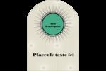 Explosion de vert Étiquettes rectangulaires - gabarit prédéfini. <br/>Utilisez notre logiciel Avery Design & Print Online pour personnaliser facilement la conception.