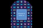 Amis poilus Étiquettes rectangulaires - gabarit prédéfini. <br/>Utilisez notre logiciel Avery Design & Print Online pour personnaliser facilement la conception.