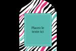 Empreintes d'animaux Étiquettes rectangulaires - gabarit prédéfini. <br/>Utilisez notre logiciel Avery Design & Print Online pour personnaliser facilement la conception.