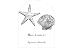 Plage Étiquettes rectangulaires - gabarit prédéfini. <br/>Utilisez notre logiciel Avery Design & Print Online pour personnaliser facilement la conception.