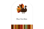 Add fall inspiration to custom projects with pre-designed Turkey Leaf templates.