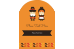 (Plymouth) Rock your custom project with pre-designed Thanksgiving Pilgrims templates.