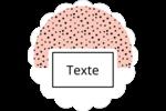 Frankenstein et la mariée Étiquettes festonnées - gabarit prédéfini. <br/>Utilisez notre logiciel Avery Design & Print Online pour personnaliser facilement la conception.