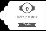 Logo simple Étiquettes imprimables - gabarit prédéfini. <br/>Utilisez notre logiciel Avery Design & Print Online pour personnaliser facilement la conception.