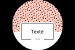 Frankenstein et la mariée Étiquettes rondes - gabarit prédéfini. <br/>Utilisez notre logiciel Avery Design & Print Online pour personnaliser facilement la conception.