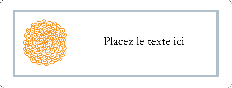 """2⅝"""" x 1"""" Étiquettes Voyantes - Ex-libris générique"""