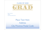 Give projects a rad sense of style with printable pre-designed Graduation Grad templates.