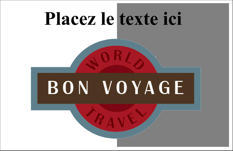"""5½"""" x 8½"""" Cartes de souhaits pliées en deux - Voyage d'antan"""