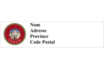 Voyage d'antan Étiquettes d'adresse - gabarit prédéfini. <br/>Utilisez notre logiciel Avery Design & Print Online pour personnaliser facilement la conception.