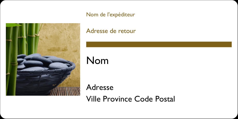 """2"""" x 4"""" Étiquettes d'expédition - Bien-être"""