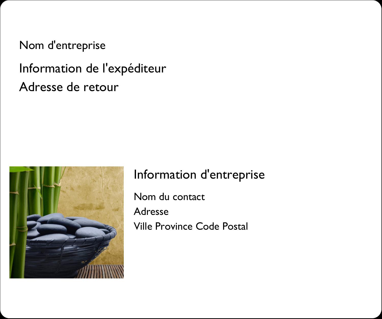 """3⅓"""" x 4"""" Étiquettes d'expédition - Bien-être"""