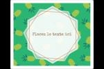 Ananas familier Étiquettes de classement - gabarit prédéfini. <br/>Utilisez notre logiciel Avery Design & Print Online pour personnaliser facilement la conception.
