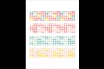 Dossier d'inspection Cartes Et Articles D'Artisanat Imprimables - gabarit prédéfini. <br/>Utilisez notre logiciel Avery Design & Print Online pour personnaliser facilement la conception.