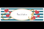 Ancre de Saint-Valentin  Affichette - gabarit prédéfini. <br/>Utilisez notre logiciel Avery Design & Print Online pour personnaliser facilement la conception.
