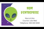 Fête d'extraterrestres Carte d'affaire - gabarit prédéfini. <br/>Utilisez notre logiciel Avery Design & Print Online pour personnaliser facilement la conception.