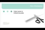 Soins des cheveux Cartes d'affaires - gabarit prédéfini. <br/>Utilisez notre logiciel Avery Design & Print Online pour personnaliser facilement la conception.