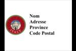 Voyage d'antan Étiquettes badges autocollants - gabarit prédéfini. <br/>Utilisez notre logiciel Avery Design & Print Online pour personnaliser facilement la conception.