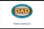 Le meilleur papa Étiquettes badges autocollants - gabarit prédéfini. <br/>Utilisez notre logiciel Avery Design & Print Online pour personnaliser facilement la conception.