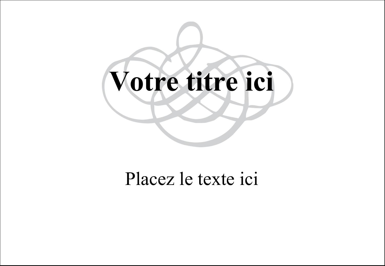 """3⅜"""" x 2⅓"""" Badges - Monogramme de mariage"""