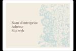 Fleur bleue Étiquettes D'Identification - gabarit prédéfini. <br/>Utilisez notre logiciel Avery Design & Print Online pour personnaliser facilement la conception.