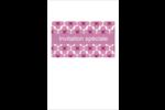 Fleurs violettes Reliures - gabarit prédéfini. <br/>Utilisez notre logiciel Avery Design & Print Online pour personnaliser facilement la conception.