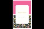 Fleurs modernes Reliures - gabarit prédéfini. <br/>Utilisez notre logiciel Avery Design & Print Online pour personnaliser facilement la conception.