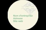 Manuscrit de mariage Étiquettes arrondies - gabarit prédéfini. <br/>Utilisez notre logiciel Avery Design & Print Online pour personnaliser facilement la conception.