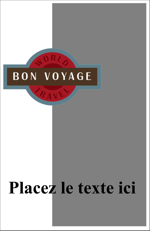"""8½"""" x 5"""" Cartes Et Articles D'Artisanat Imprimables - Voyage d'antan"""