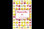 Émoji de Saint-Valentin Cartes Et Articles D'Artisanat Imprimables - gabarit prédéfini. <br/>Utilisez notre logiciel Avery Design & Print Online pour personnaliser facilement la conception.