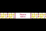 Émoji de Saint-Valentin Étiquettes enveloppantes - gabarit prédéfini. <br/>Utilisez notre logiciel Avery Design & Print Online pour personnaliser facilement la conception.