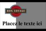 Voyage d'antan Carte d'affaire - gabarit prédéfini. <br/>Utilisez notre logiciel Avery Design & Print Online pour personnaliser facilement la conception.