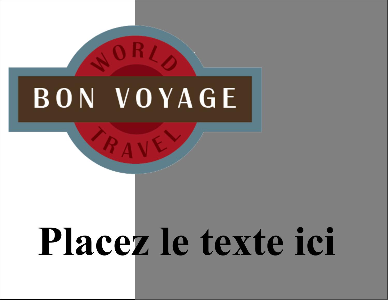 """4¼"""" X 5½"""" Carte Postale - Voyage d'antan"""