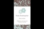 Fleur bleue Carte d'affaire - gabarit prédéfini. <br/>Utilisez notre logiciel Avery Design & Print Online pour personnaliser facilement la conception.