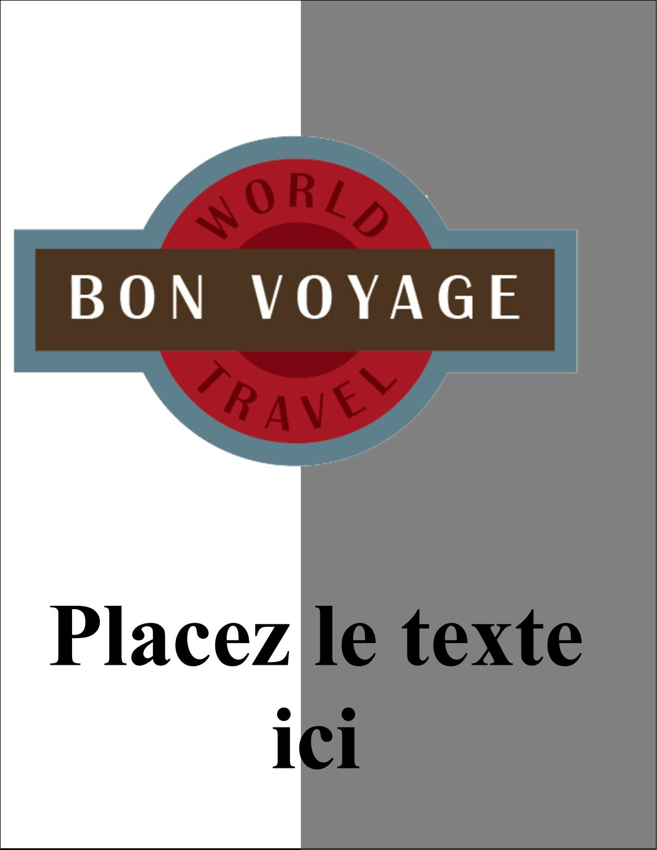 """5½"""" x 4¼"""" Carte Postale - Voyage d'antan"""