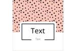 Customize personal or professional projects with pre-designed Pretty Dots templates.