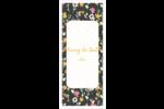 Fleurs modernes Cartes Pour Le Bureau - gabarit prédéfini. <br/>Utilisez notre logiciel Avery Design & Print Online pour personnaliser facilement la conception.