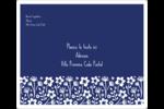 Petit bouquet bleu Étiquettes D'Adresse - gabarit prédéfini. <br/>Utilisez notre logiciel Avery Design & Print Online pour personnaliser facilement la conception.