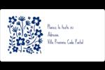 Petit bouquet bleu Étiquettes de classement écologiques - gabarit prédéfini. <br/>Utilisez notre logiciel Avery Design & Print Online pour personnaliser facilement la conception.