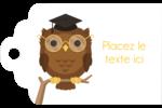 Hibou et diplôme Étiquettes imprimables - gabarit prédéfini. <br/>Utilisez notre logiciel Avery Design & Print Online pour personnaliser facilement la conception.