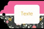 Fleurs modernes Étiquettes imprimables - gabarit prédéfini. <br/>Utilisez notre logiciel Avery Design & Print Online pour personnaliser facilement la conception.