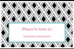 Damas décoratif Cartes Et Articles D'Artisanat Imprimables - gabarit prédéfini. <br/>Utilisez notre logiciel Avery Design & Print Online pour personnaliser facilement la conception.