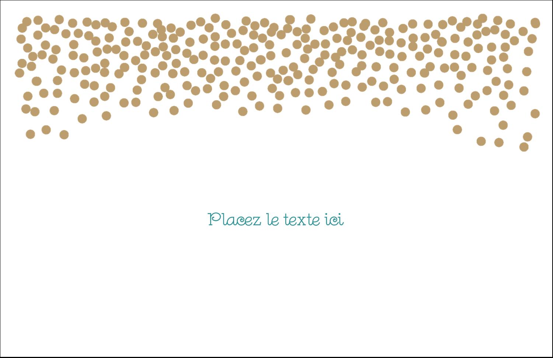 Lumières dorées Cartes de souhaits pliées en deux - gabarit prédéfini. <br/>Utilisez notre logiciel Avery Design & Print Online pour personnaliser facilement la conception.