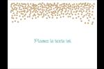 Lumières dorées Cartes de notes - gabarit prédéfini. <br/>Utilisez notre logiciel Avery Design & Print Online pour personnaliser facilement la conception.