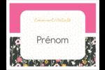 Fleurs modernes Badges - gabarit prédéfini. <br/>Utilisez notre logiciel Avery Design & Print Online pour personnaliser facilement la conception.